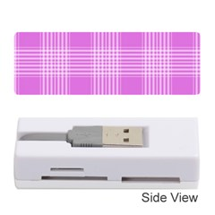 Seamless Tartan Pattern Memory Card Reader (stick)