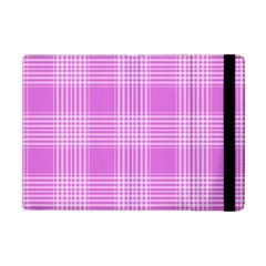 Seamless Tartan Pattern Apple Ipad Mini Flip Case