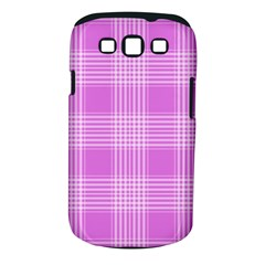 Seamless Tartan Pattern Samsung Galaxy S Iii Classic Hardshell Case (pc+silicone)