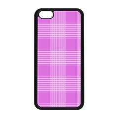 Seamless Tartan Pattern Apple Iphone 5c Seamless Case (black)