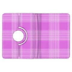Seamless Tartan Pattern Kindle Fire Hdx Flip 360 Case