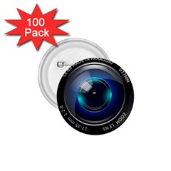 Camera Lens Prime Photography 1 75  Buttons (100 Pack)