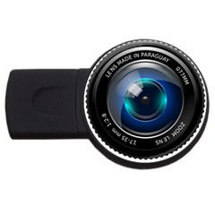 Camera Lens Prime Photography Usb Flash Drive Round (4 Gb)
