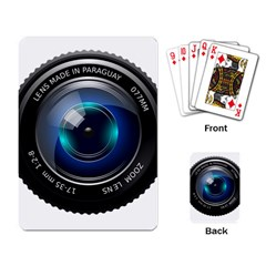 Camera Lens Prime Photography Playing Card