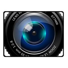 Camera Lens Prime Photography Fleece Blanket (small)