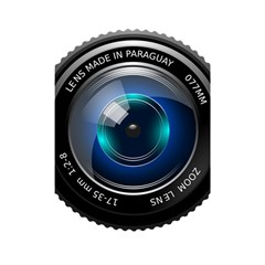 Camera Lens Prime Photography Shower Curtain 48  X 72  (small)