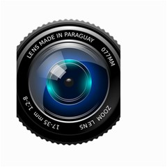 Camera Lens Prime Photography Small Garden Flag (two Sides)