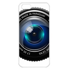 Camera Lens Prime Photography Apple Iphone 5 Seamless Case (white)