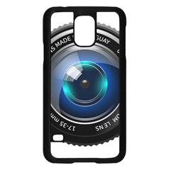 Camera Lens Prime Photography Samsung Galaxy S5 Case (black)