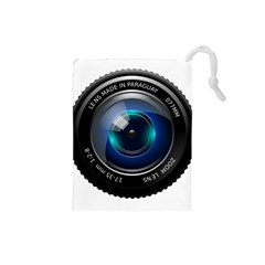 Camera Lens Prime Photography Drawstring Pouches (small)