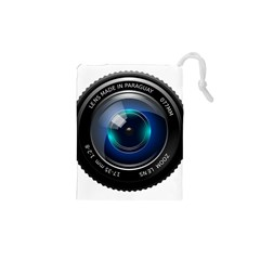 Camera Lens Prime Photography Drawstring Pouches (xs)
