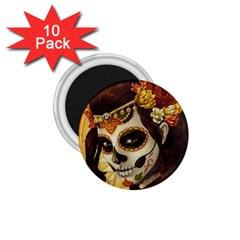 Fantasy Girl Art 1 75  Magnets (10 Pack)