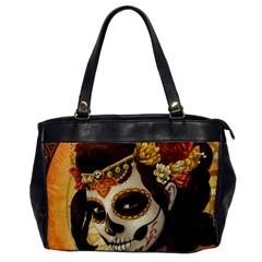 Fantasy Girl Art Office Handbags