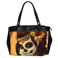 Fantasy Girl Art Office Handbags (2 Sides)