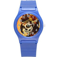 Fantasy Girl Art Round Plastic Sport Watch (s)