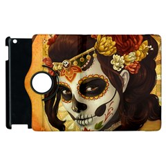 Fantasy Girl Art Apple Ipad 2 Flip 360 Case