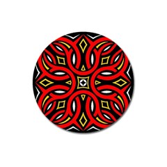 Traditional Art Pattern Magnet 3  (round)