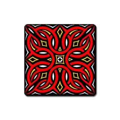 Traditional Art Pattern Square Magnet