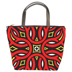 Traditional Art Pattern Bucket Bags