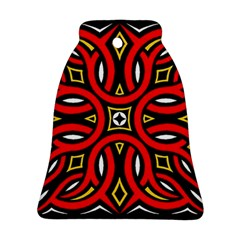 Traditional Art Pattern Bell Ornament (two Sides)