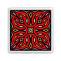 Traditional Art Pattern Memory Card Reader (square)