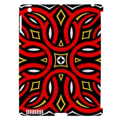 Traditional Art Pattern Apple Ipad 3/4 Hardshell Case (compatible With Smart Cover)