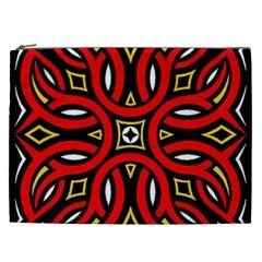 Traditional Art Pattern Cosmetic Bag (xxl)
