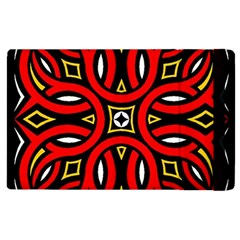 Traditional Art Pattern Apple Ipad 2 Flip Case