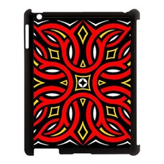 Traditional Art Pattern Apple Ipad 3/4 Case (black)