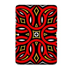 Traditional Art Pattern Samsung Galaxy Tab 2 (10 1 ) P5100 Hardshell Case