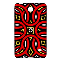 Traditional Art Pattern Samsung Galaxy Tab 4 (8 ) Hardshell Case