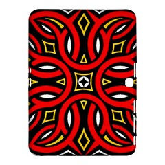 Traditional Art Pattern Samsung Galaxy Tab 4 (10 1 ) Hardshell Case