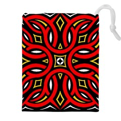 Traditional Art Pattern Drawstring Pouches (xxl)