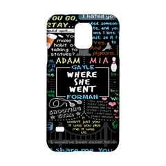 Book Quote Collage Samsung Galaxy S5 Hardshell Case