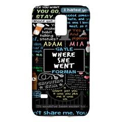 Book Quote Collage Galaxy S5 Mini