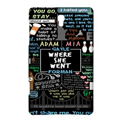 Book Quote Collage Samsung Galaxy Tab S (8 4 ) Hardshell Case