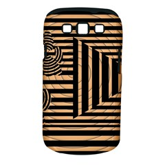 Wooden Pause Play Paws Abstract Oparton Line Roulette Spin Samsung Galaxy S Iii Classic Hardshell Case (pc+silicone)