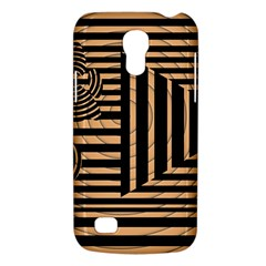Wooden Pause Play Paws Abstract Oparton Line Roulette Spin Galaxy S4 Mini