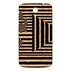 Wooden Pause Play Paws Abstract Oparton Line Roulette Spin Samsung Galaxy Mega I9200 Hardshell Back Case