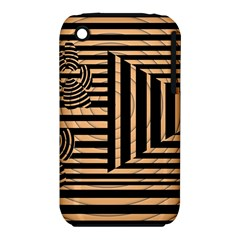 Wooden Pause Play Paws Abstract Oparton Line Roulette Spin Iphone 3s/3gs