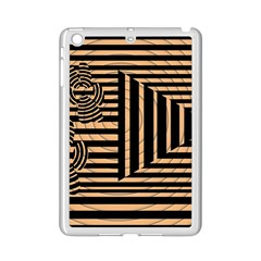 Wooden Pause Play Paws Abstract Oparton Line Roulette Spin Ipad Mini 2 Enamel Coated Cases