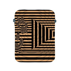 Wooden Pause Play Paws Abstract Oparton Line Roulette Spin Apple Ipad 2/3/4 Protective Soft Cases