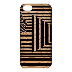 Wooden Pause Play Paws Abstract Oparton Line Roulette Spin Apple Iphone 5c Hardshell Case