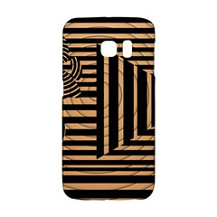 Wooden Pause Play Paws Abstract Oparton Line Roulette Spin Galaxy S6 Edge