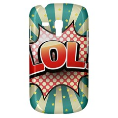 Lol Comic Speech Bubble  Vector Illustration Galaxy S3 Mini