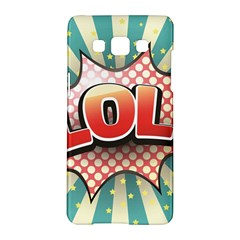 Lol Comic Speech Bubble  Vector Illustration Samsung Galaxy A5 Hardshell Case