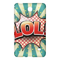 Lol Comic Speech Bubble  Vector Illustration Samsung Galaxy Tab 4 (7 ) Hardshell Case