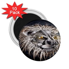Lion Robot 2 25  Magnets (10 Pack)