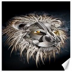 Lion Robot Canvas 12  X 12