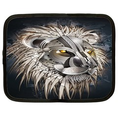 Lion Robot Netbook Case (large)